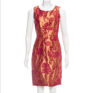 Vera Wang Lavender Label Patterned Mini Dress